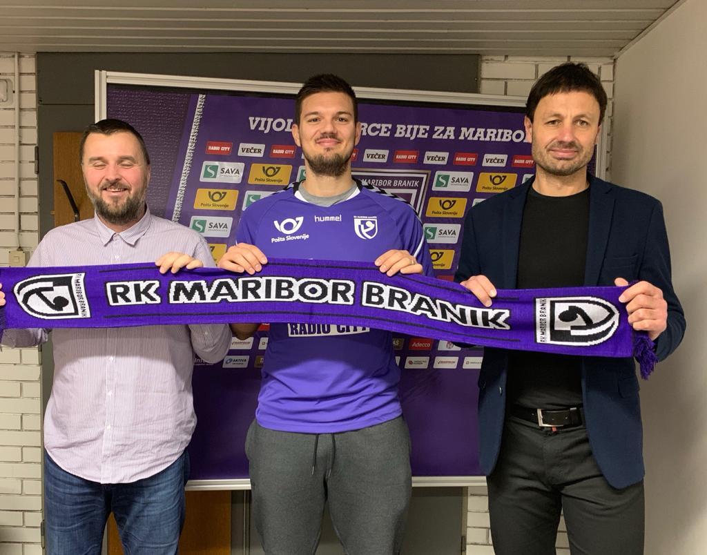 Mariborski Branik okrepil Bogunović