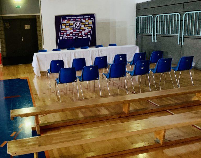 Predstavitev ekipe na novinarski konferenci pred začetkom sezone