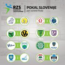 V osmini finala Pokala Slovenije z RD Rudar Trbovlje